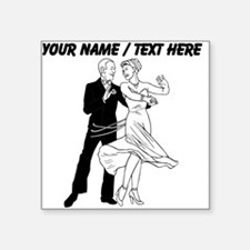 Custom Ballroom Dancing Sticker