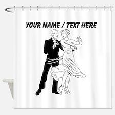 Custom Ballroom Dancing Shower Curtain