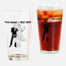 Custom Ballroom Dancing Drinking Glass
