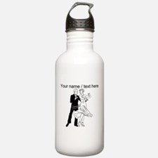 Custom Ballroom Dancing Water Bottle