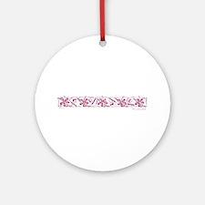 Florida: Wakeboard Girl Ornament (Round)