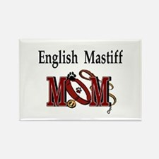 English Mastiff Mom Rectangle Magnet