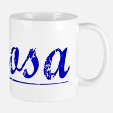 Roosa, Blue, Aged Mug