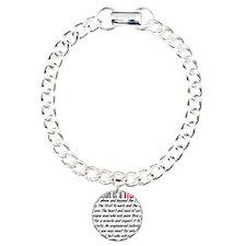 Definition of a nurse Charm Bracelet, One Charm