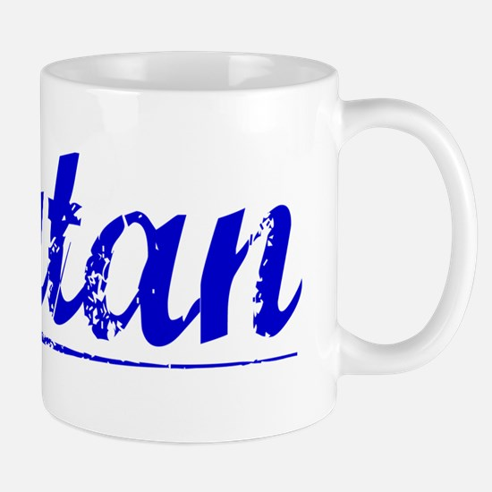 Rutan, Blue, Aged Mug