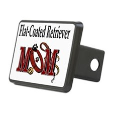 Flat-Coated Retriever Mom Hitch Cover