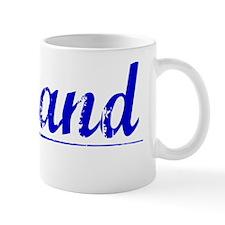 Ryland, Blue, Aged Mug