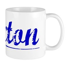 Saxton, Blue, Aged Mug