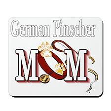 German Pinscher Mom Mousepad