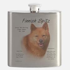 Finnish Spitz Flask