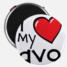 I Love My Avo Magnet