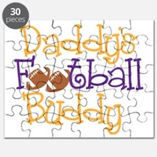 Daddy's Football Buddy Funny, unique, witty Puzzle