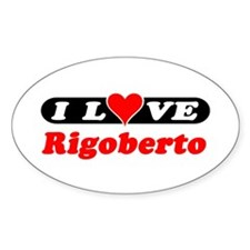 I Love Rigoberto Oval Decal