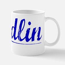 Sandlin, Blue, Aged Mug