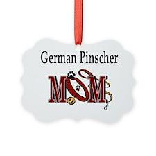 German Pinscher Mom Ornament