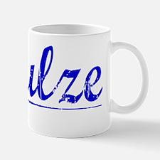 Schulze, Blue, Aged Mug