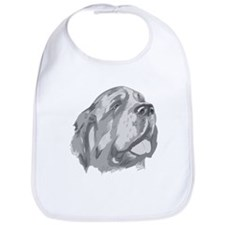 St. Bernard Illustration Bib