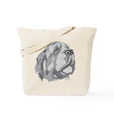 St. Bernard Illustration Tote Bag