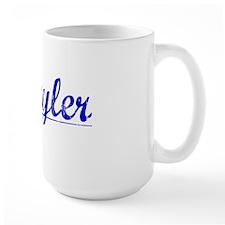 Schuyler, Blue, Aged Mug