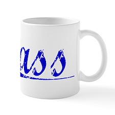 Sass, Blue, Aged Mug