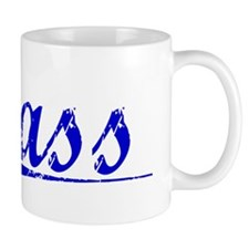 Sass, Blue, Aged Small Mugs
