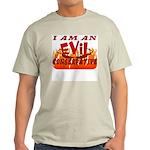 EVIL Conservative Ash Grey T-Shirt