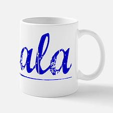 Savala, Blue, Aged Mug