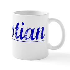 Sebastian, Blue, Aged Mug