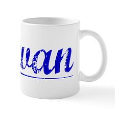 Schwan, Blue, Aged Small Mugs