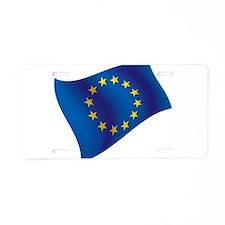 European Union Aluminum License Plate
