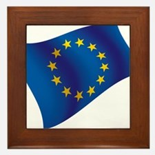 European Union Framed Tile