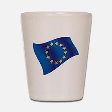 European Union Shot Glass