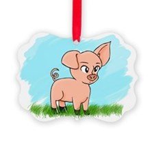 Little Piggy pig pig Ornament