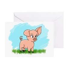 Little Piggy pig pig Greeting Card