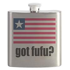 Got Fufu Liberian Flag Flask