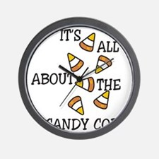 All About The Candy Wall Clock