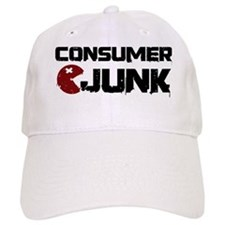 Consumer Junk logo black/red Baseball Cap