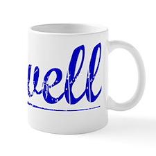 Sewell, Blue, Aged Mug