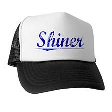 Shiner, Blue, Aged Trucker Hat