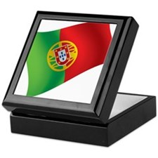 Portuguese Flag Keepsake Box