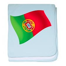 Portuguese Flag baby blanket