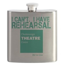 I Cant.  I Have Rehearsal Flask