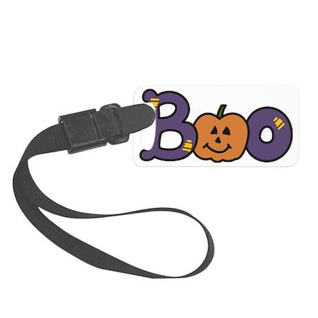 Halloween Boo Small Luggage Tag