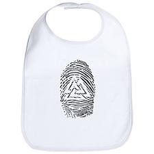 """""""Heathen Fingerprint"""" Bib"""