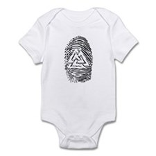 """Heathen Fingerprint"" Infant Bodysuit"