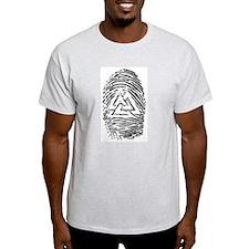 """""""Heathen Fingerprint"""" T-Shirt"""