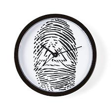 """Heathen Fingerprint"" Wall Clock"