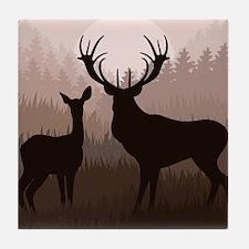 Deer Tile Coaster