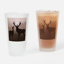 Deer Drinking Glass