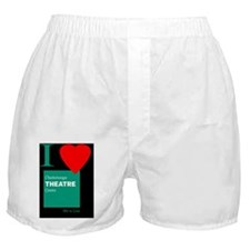 I Love the Chattanooga Theatre Centre Boxer Shorts